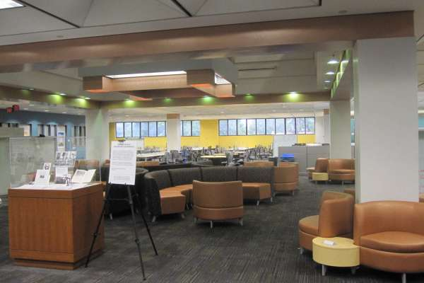 2nd Floor of Marston Science Library