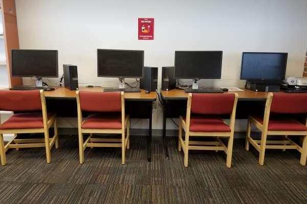 4th Floor computers