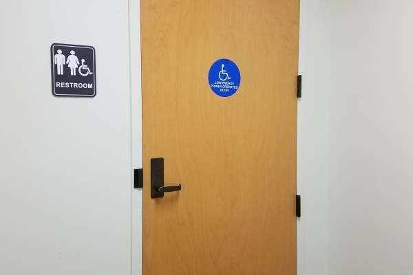 GI Bathroom Door