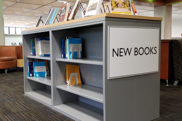 The New Books Collection in Marston Science Library